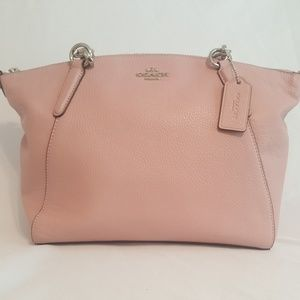Coach Pebble Leather Small Kelsey Satchel F28993